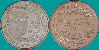 Nobel Peace Prize Medal 1986 Collections & Sets...
